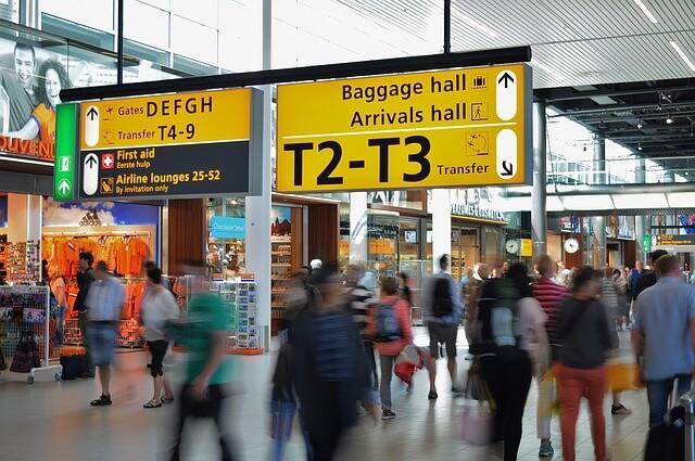missed flight airport