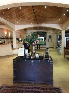 Tasting room at Kanonkop during the Cape Winelands tour