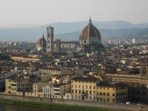 the duomo and city scape, Florence, Italy