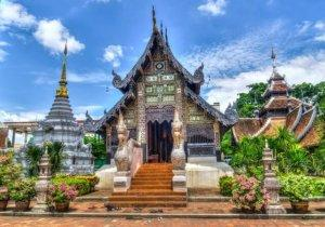 Temple in Chiang Mai, Thailand
