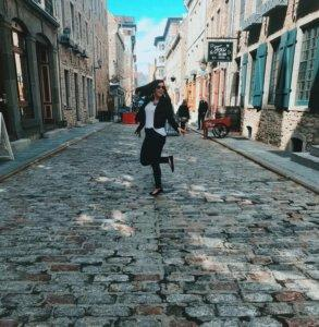 Dancing around the streets of Old Quebec | 2 days in Quebec City itinerary