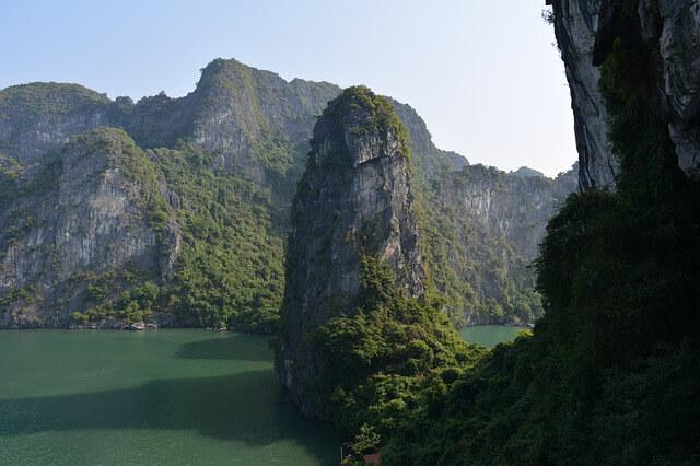 Ha Long Bay karst mountains