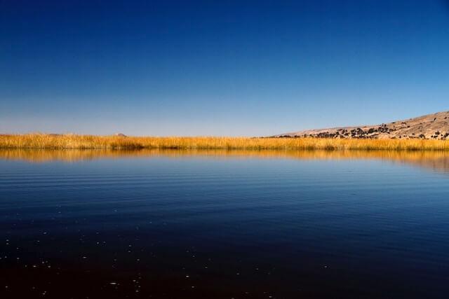 Peaceful, mystical waters of Lake Titicaca