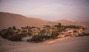 Sand dunes and Oasis of Huaccacina