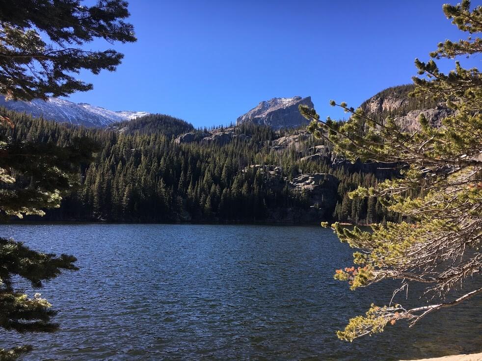 Rocky Mountains in Denver, Colorado