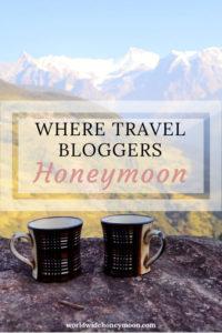 Where Travel Bloggers Honeymoon Pinterest Pin 3