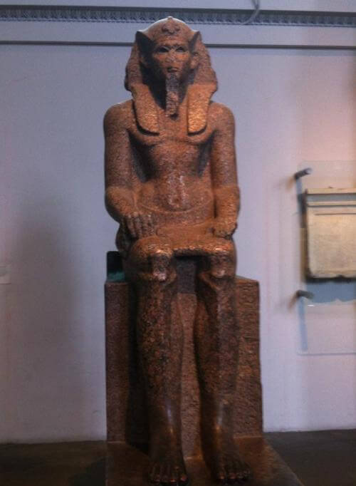 British Museum Egypt display
