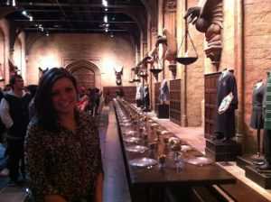 Great Hall from Harry Potter Studio Tour