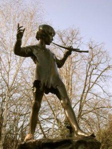 Peter Pan Statue in London
