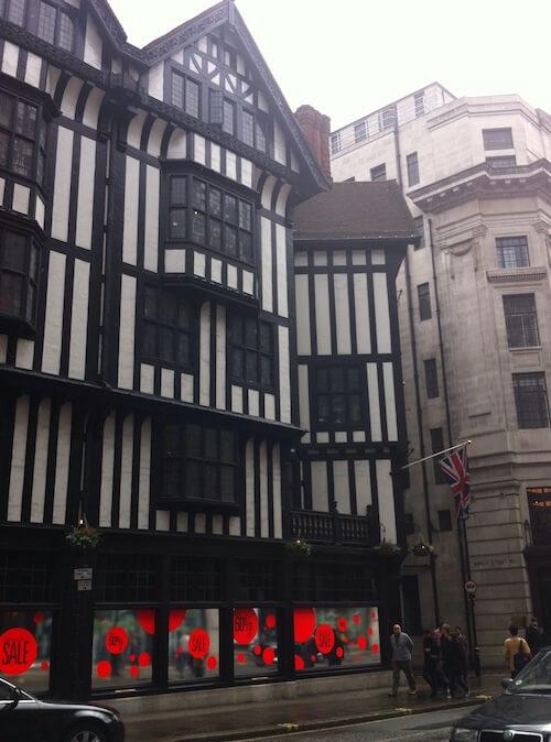 Tudor architecture in London