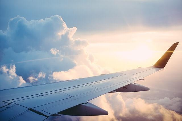 View from Airplane Wing: Maximize Your Miles