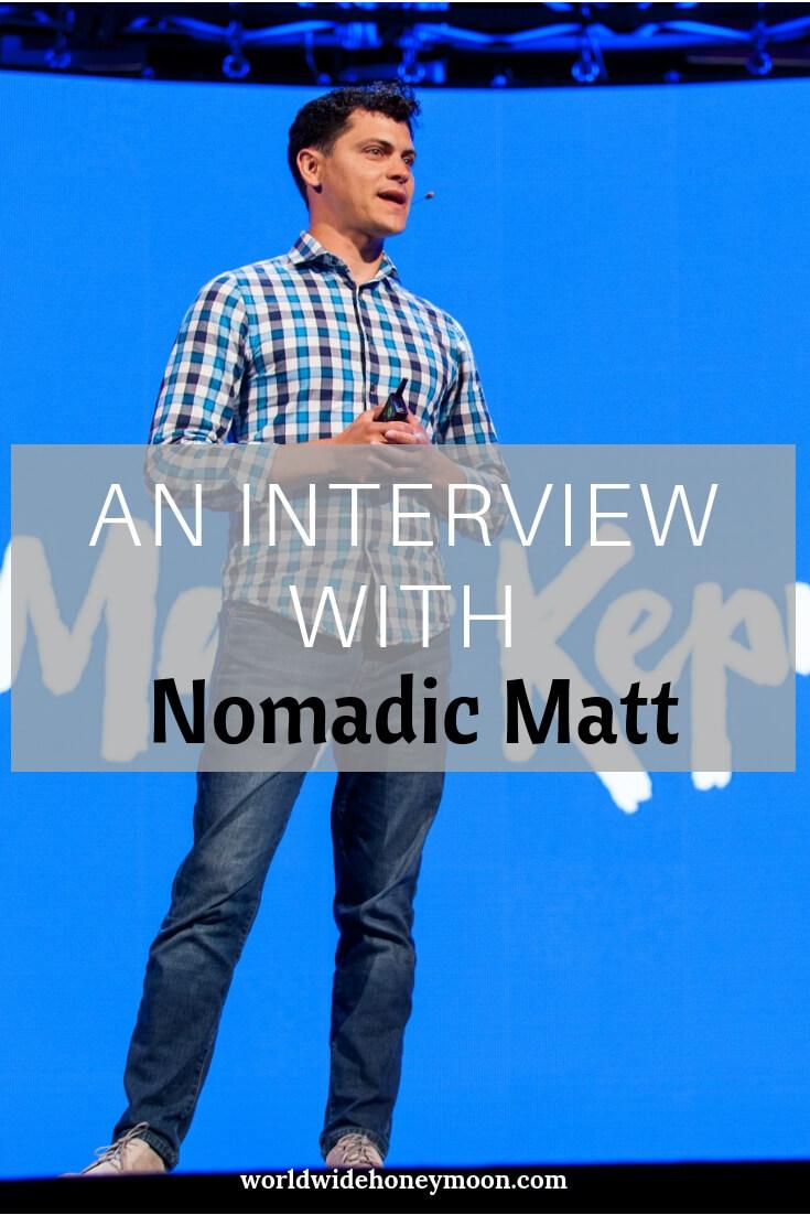An Interview with Nomadic Matt
