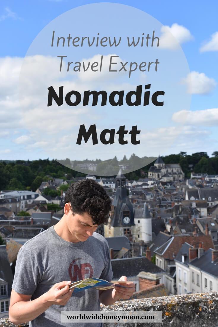 Travel Expert Nomadic Matt