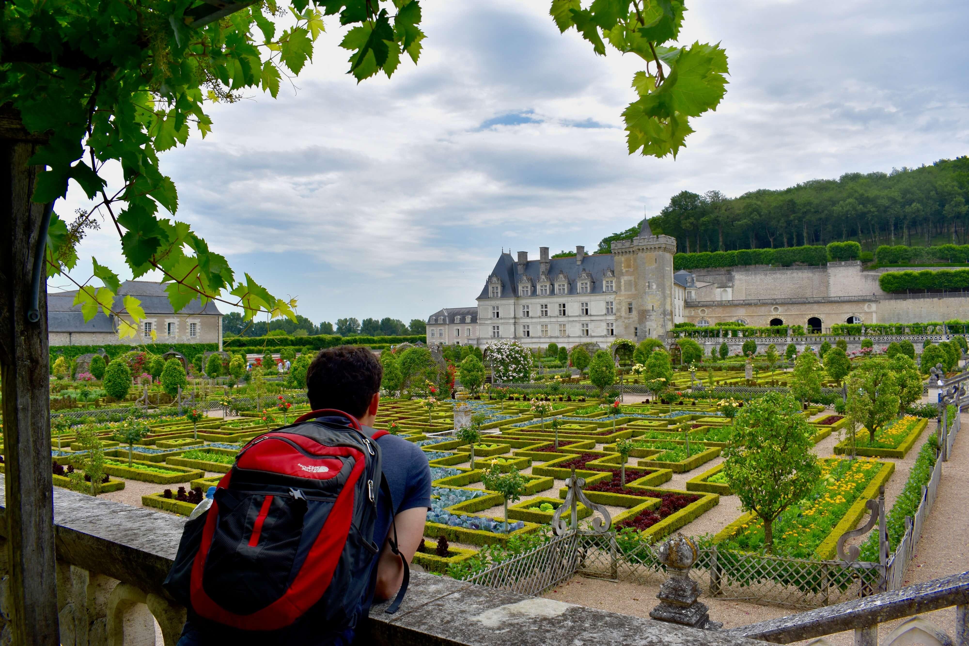 Matt at a French castle