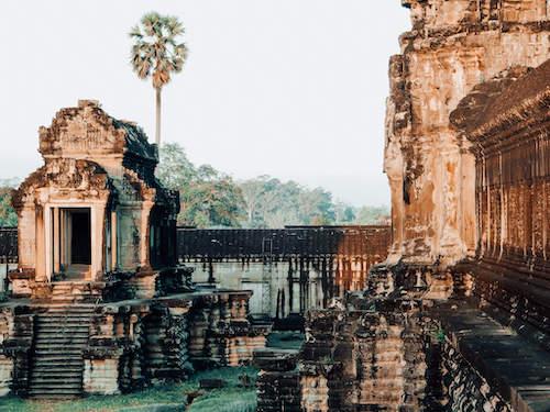 Angkor Wat inside temple