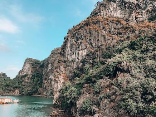 Bai Tu Long Bay Karst Mountain