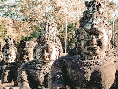 Bayon Temple Gate