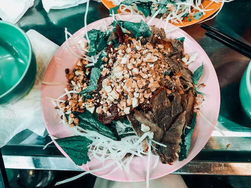 Dried Beef Salad