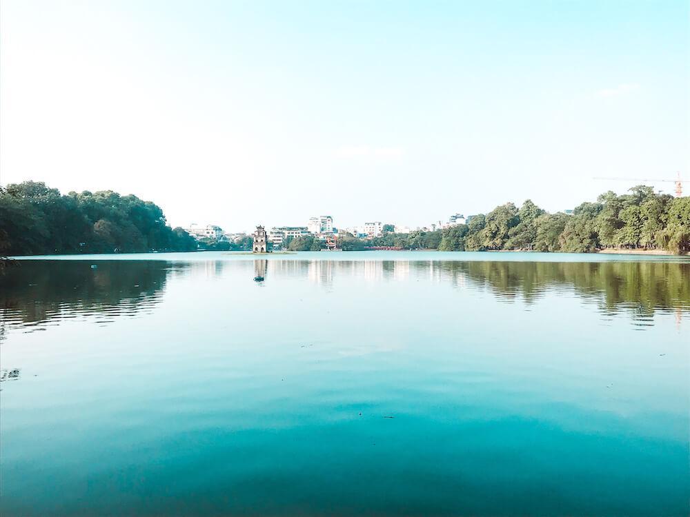 Hoan Kiem Lake Hanoi Itinerary