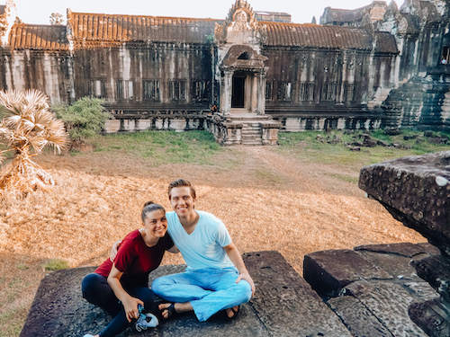 Kat & Chris Angkor Wat