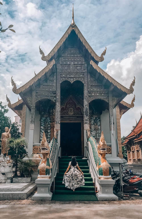Old City Temples, Chiang Mai during Southeast Asia itinerary 3 weeks