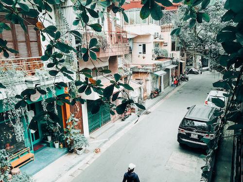 Side Street in Hanoi