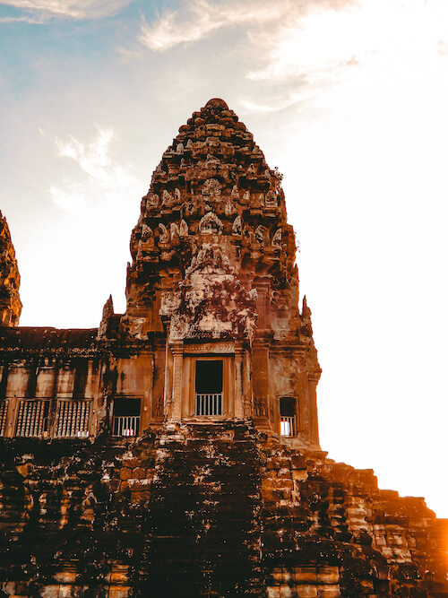 Angkor Wat outer tower