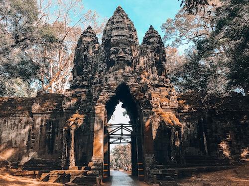 Gate to Ta Prohm