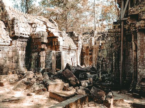Ta Nei Temple inside