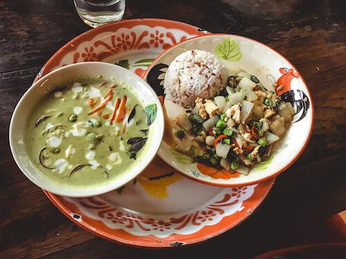 Thai Farm Cooking School curries