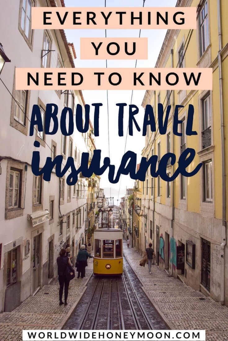 Travel Insurance Pinterest Pin