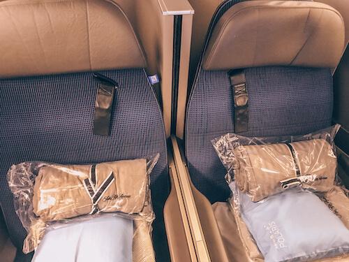 United Polaris Business Class Seats
