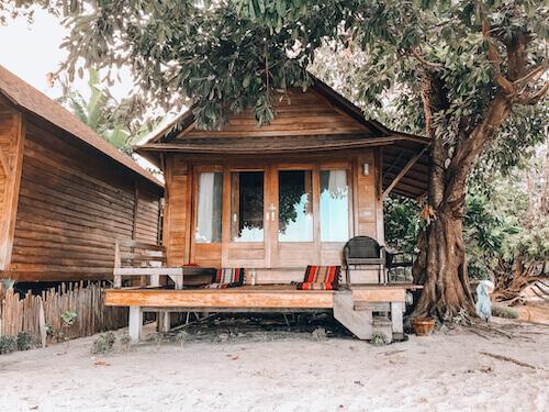 Beach Bungalow at Ten Moons Lipe Resort
