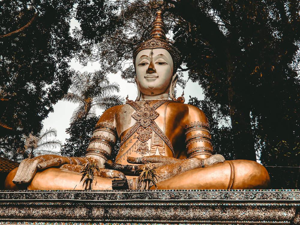 Buddha outside of Doi Suthep