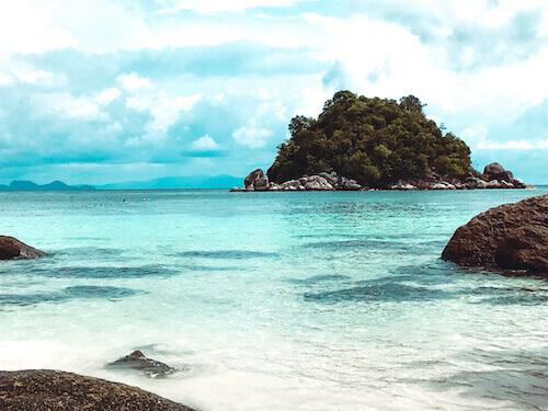 Island across from Sunrise Beach, Koh Lipe, Thailand