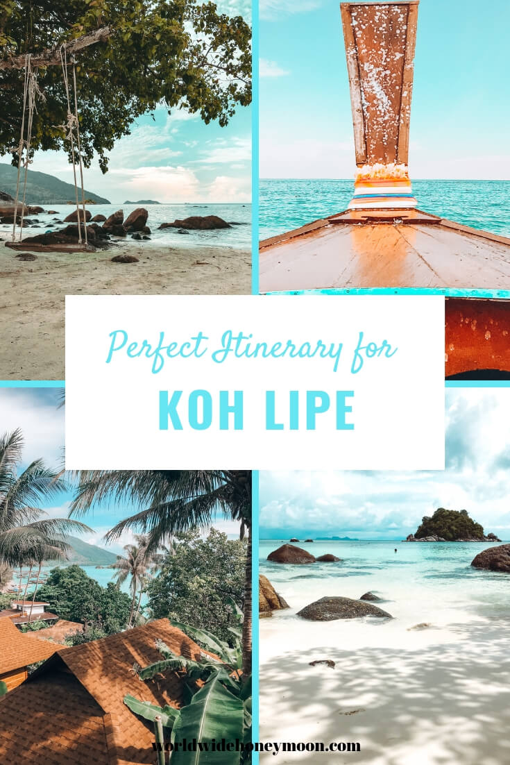 Perfect Itinerary for Koh Lipe