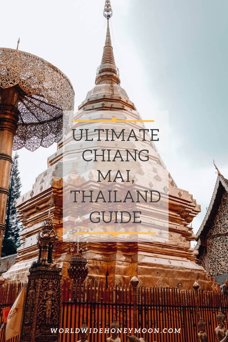 Chiang Mai Thailand podcast guide Pinterest Pin