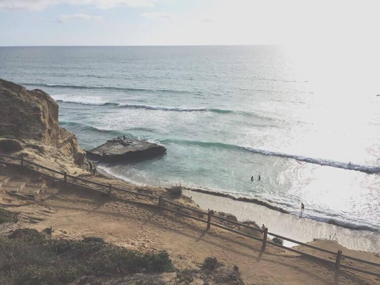 La Jolla Beaches in California