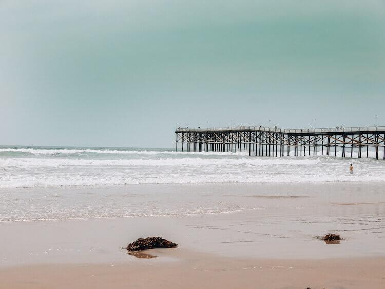 Pier on Pacific Beach, San Diego