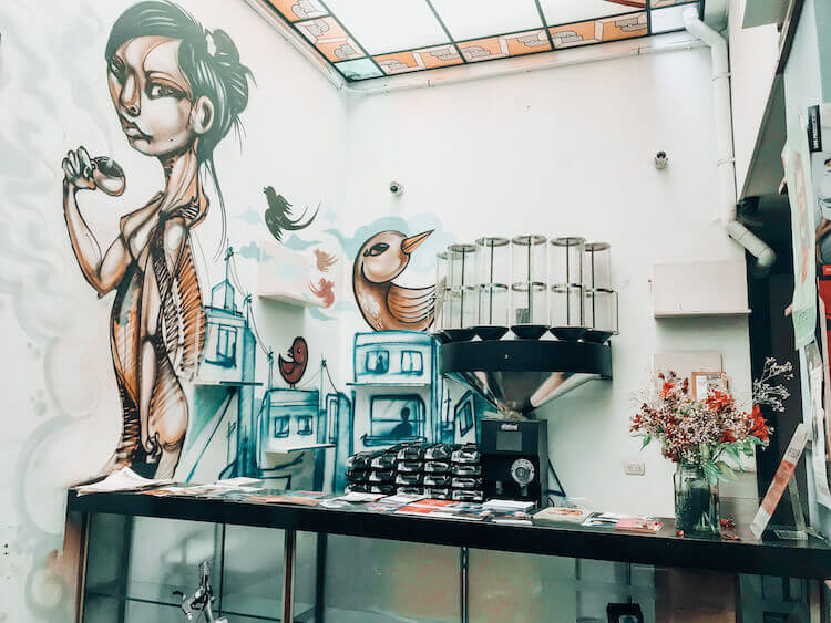 Peru 10-Day Itinerary - Bisetti Cafe in Barranco, Lima, Peru