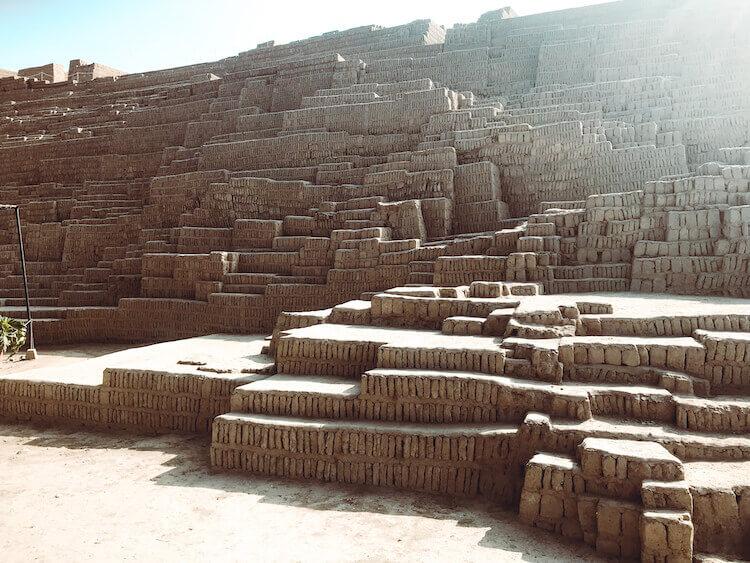 Pre-Incan ruins in Miraflores, Lima, Peru - Peru itinerary