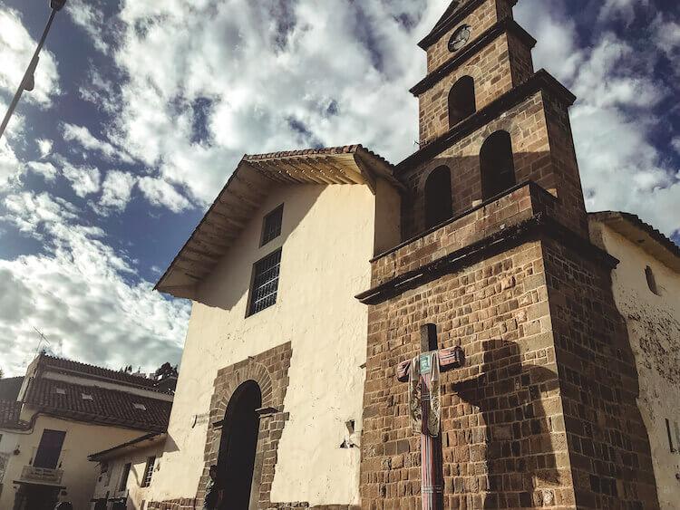 San Blas square cathedral - Peru, itinerary