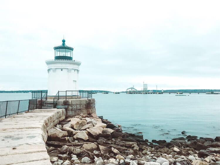 Bug Light lighthouse in Portland Maine - Best spots in Portland Maine