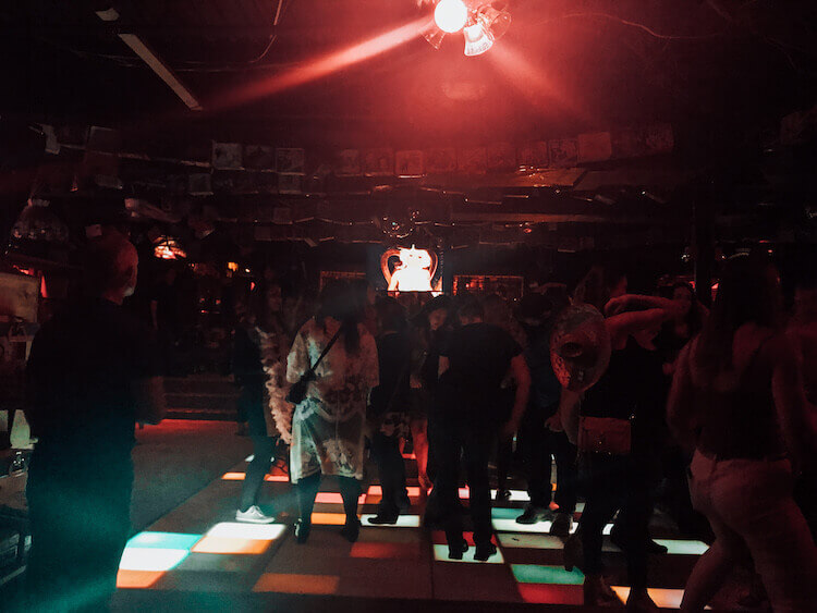 Dance floor at Bubba's Sulky Lounge - Bars in Portland Maine