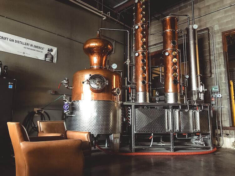 Gin Distiller at Hardshore Distilling