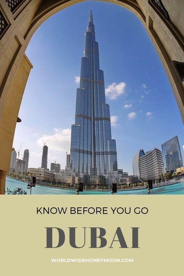 Know Before You Go- Dubai