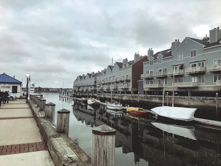 Old Port in Portland Maine - Best Things to do in Portland Maine