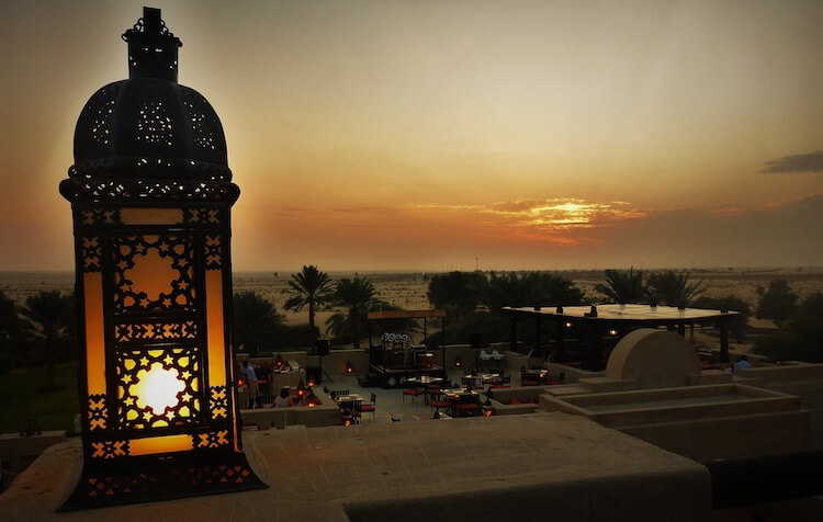 Sunset along the beach in Dubai   Places to Visit in Dubai for a Honeymoon