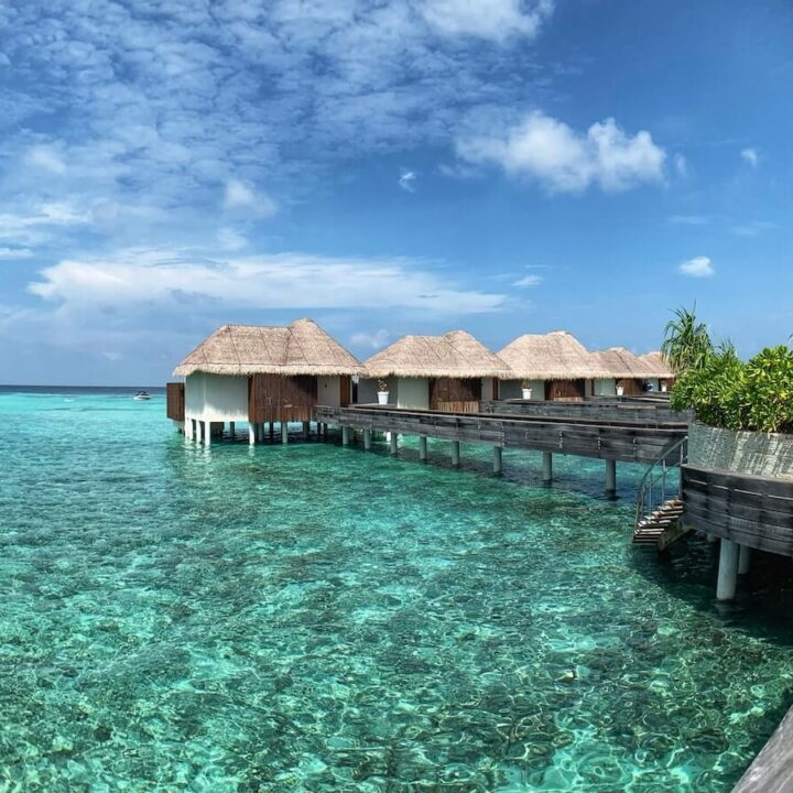 These are the Best Credit Cards for Wedding and Honeymoon Planning - Crystal Clear Waters and overwater bungalows