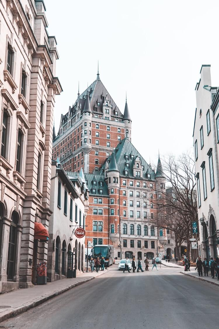 2 days in Quebec City itinerary: Chateau de Frontenac